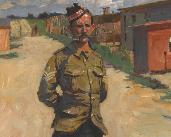 Colour Sergeant Major Alexander Gibb, 2nd Battalion Princess Louise's (Argyll and Sutherland Highlanders), 1915
