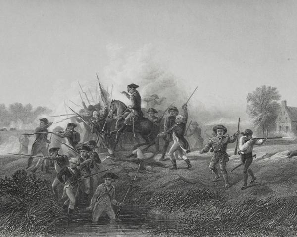 The Battle of Long Island, 1776