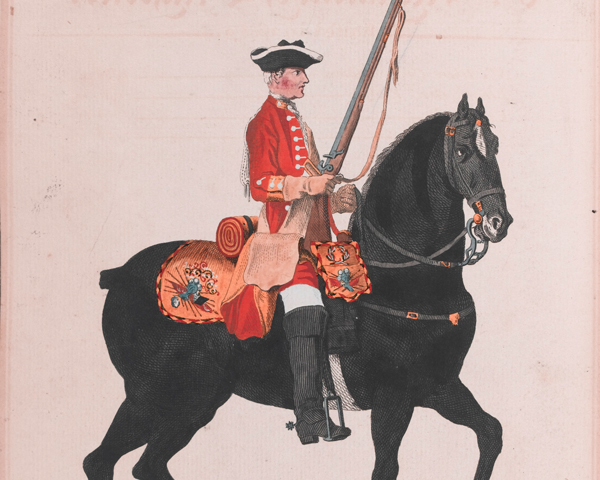 6th Regiment of Dragoons, c1742