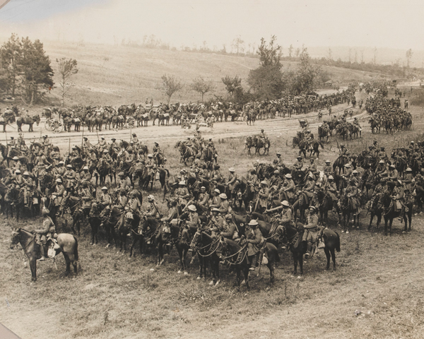 18th King George's Own Lancers near Mametz, 15 July 1916