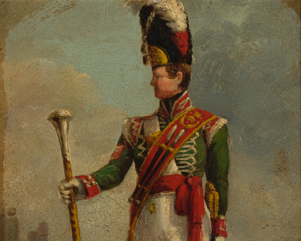 Drum Major John Goodger, 94th Regiment of Foot, c1815
