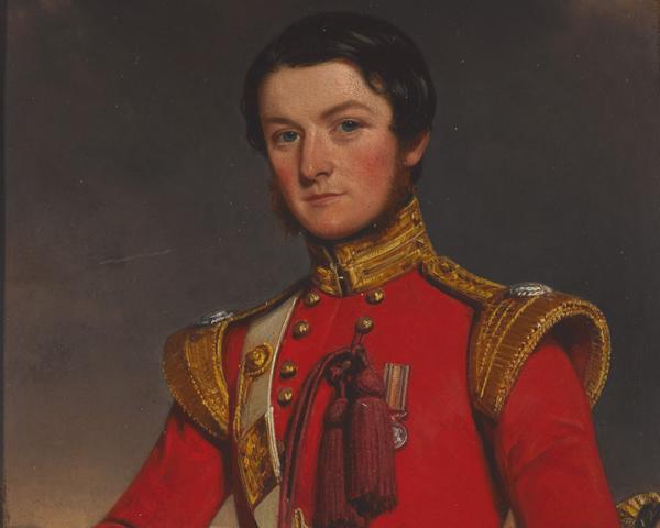 Lieutenant William Fleming, 45th (Nottinghamshire) Regiment of Foot, 1853