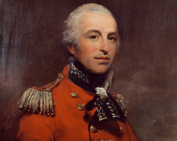 Major-General James Robertson, 1810
