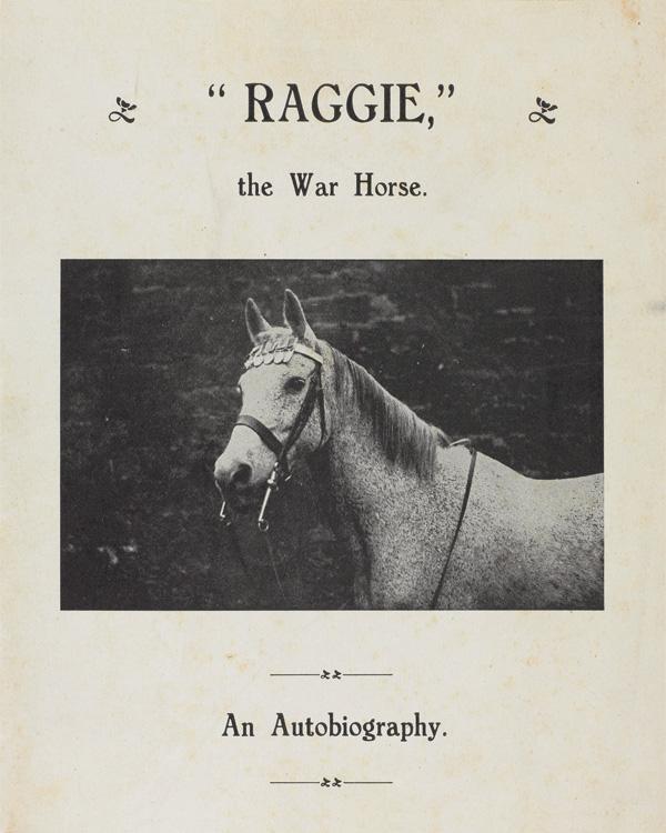 Raggie, An Autobiography