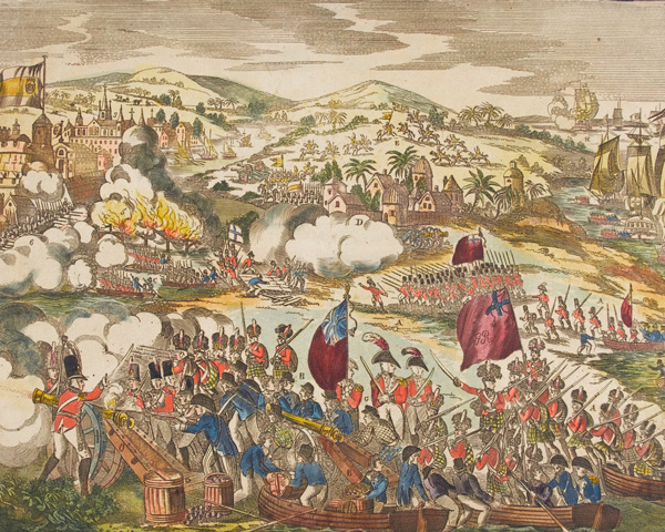 The attack on Buenos Aires, 1806