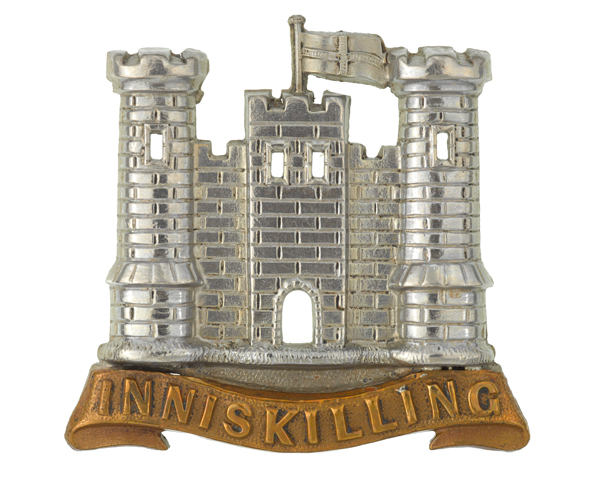Cap badge, other ranks, 6th (Inniskilling) Dragoons, c1900