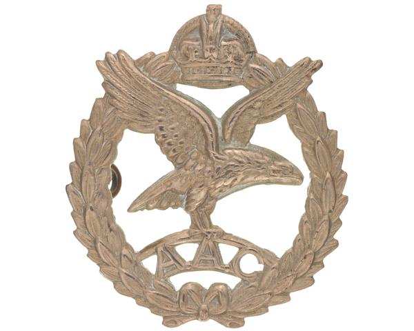 Cap badge, Army Air Corps, c1944