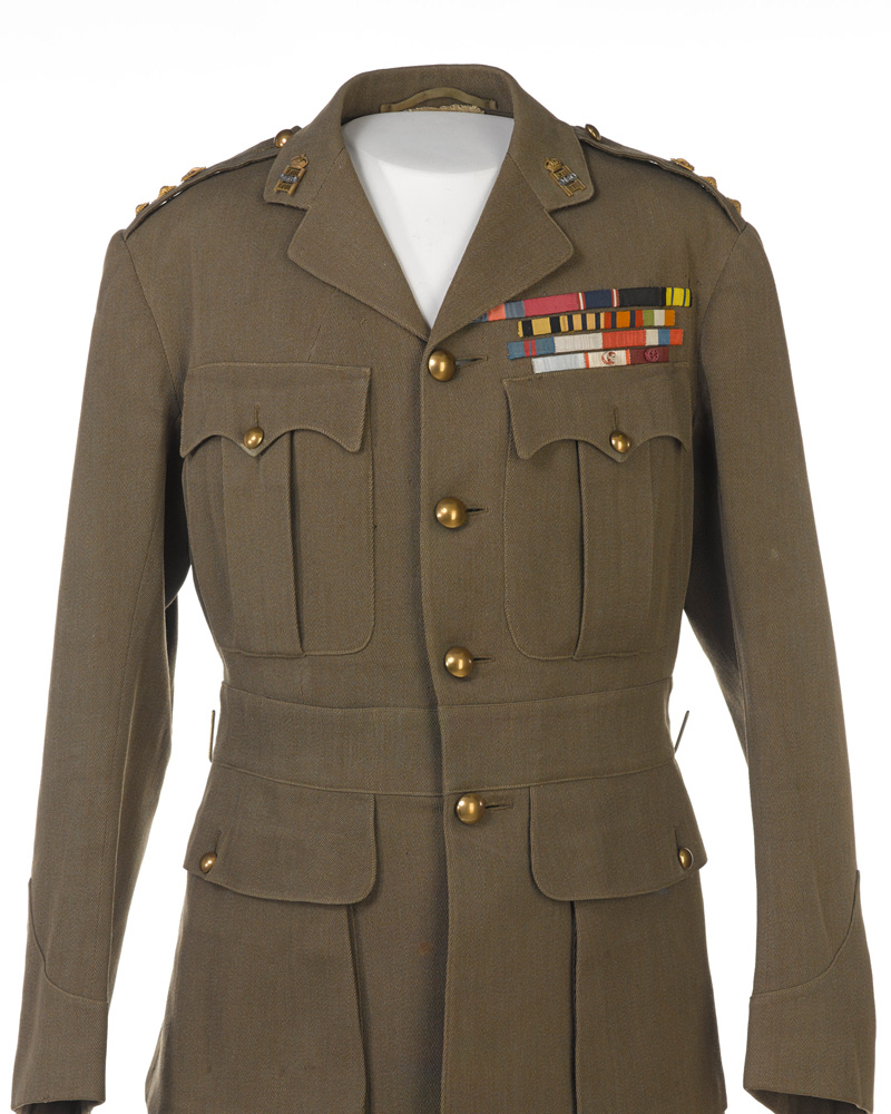 Tunic worn by Lieutenant General Lord Robert Baden-Powell, Colonel of the 13th/18th Hussars, c1928