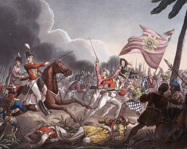 Battle of Assaye, 23 September 1803