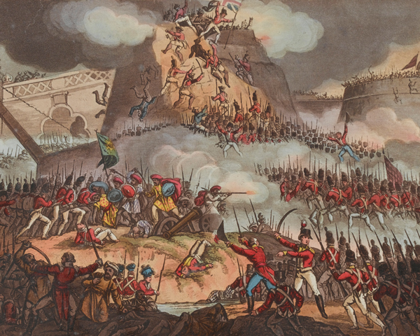 Storming of Seringapatam, 4 May 1799