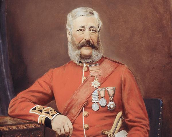 Colonel Edmund Jeffreys, 88th Regiment (Connaught Rangers), c1858