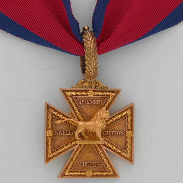 Army Gold Cross of Lieutenant-Colonel William Inglis, 57th Regiment