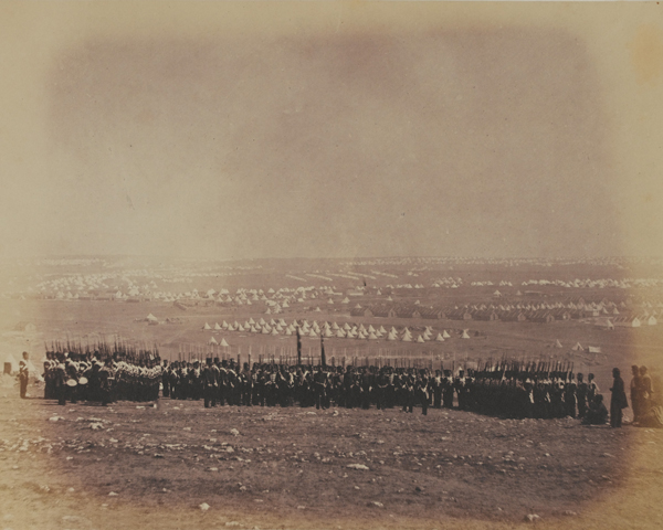 The 57th (West Middlesex) Regiment in the Crimea, 1855