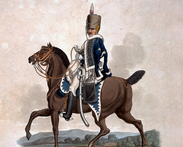 Private of the 18th Light Dragoons (Hussars), 1812