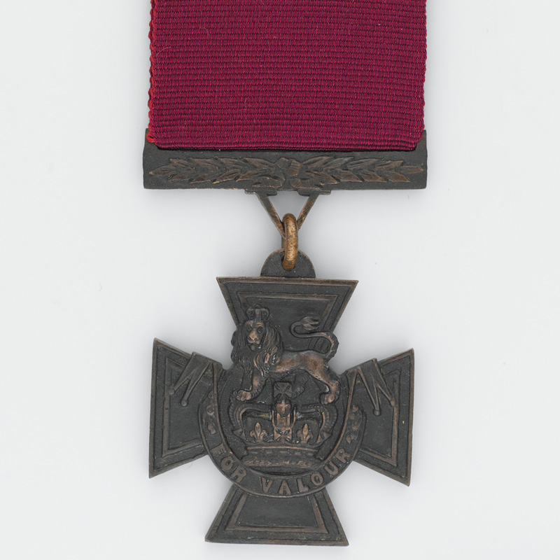 VC awarded to Private John Ryan, 1st Madras European Fusiliers, 1857