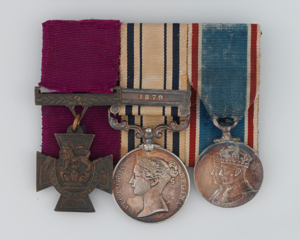 VC awarded to Lance Corporal James Murray, 94th Regiment, for his actions at Elandsfontein, 1881