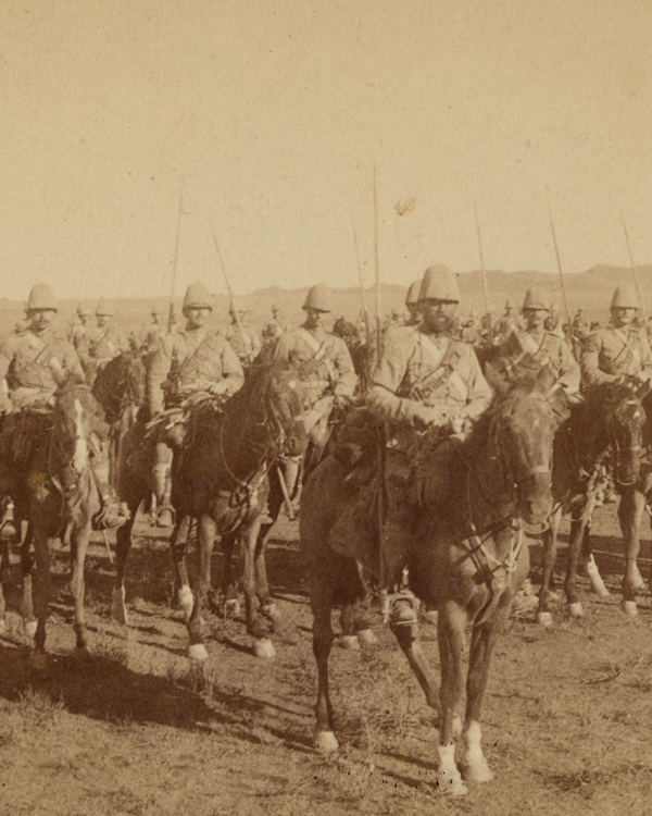 The Inniskilling Dragoons in South Africa, 1899