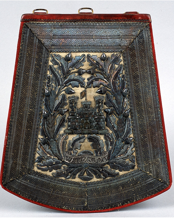 Sabretache, 6th (Inniskilling) Dragoons, c1850