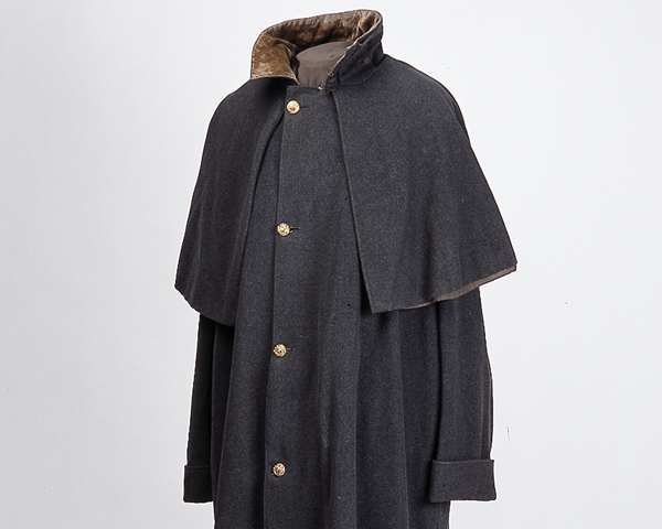 Great coat worn by Captain William Acton, 77th (East Middlesex) Regiment, at Inkerman, 1854