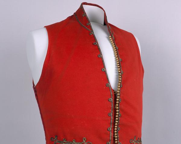 Officer's mess vest, 95th (Derbyshire) Regiment, c1851