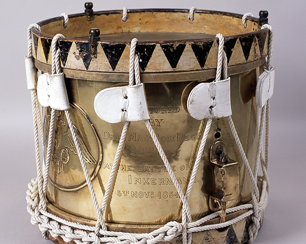 Russian drum captured by the 88th at Inkerman in 1854