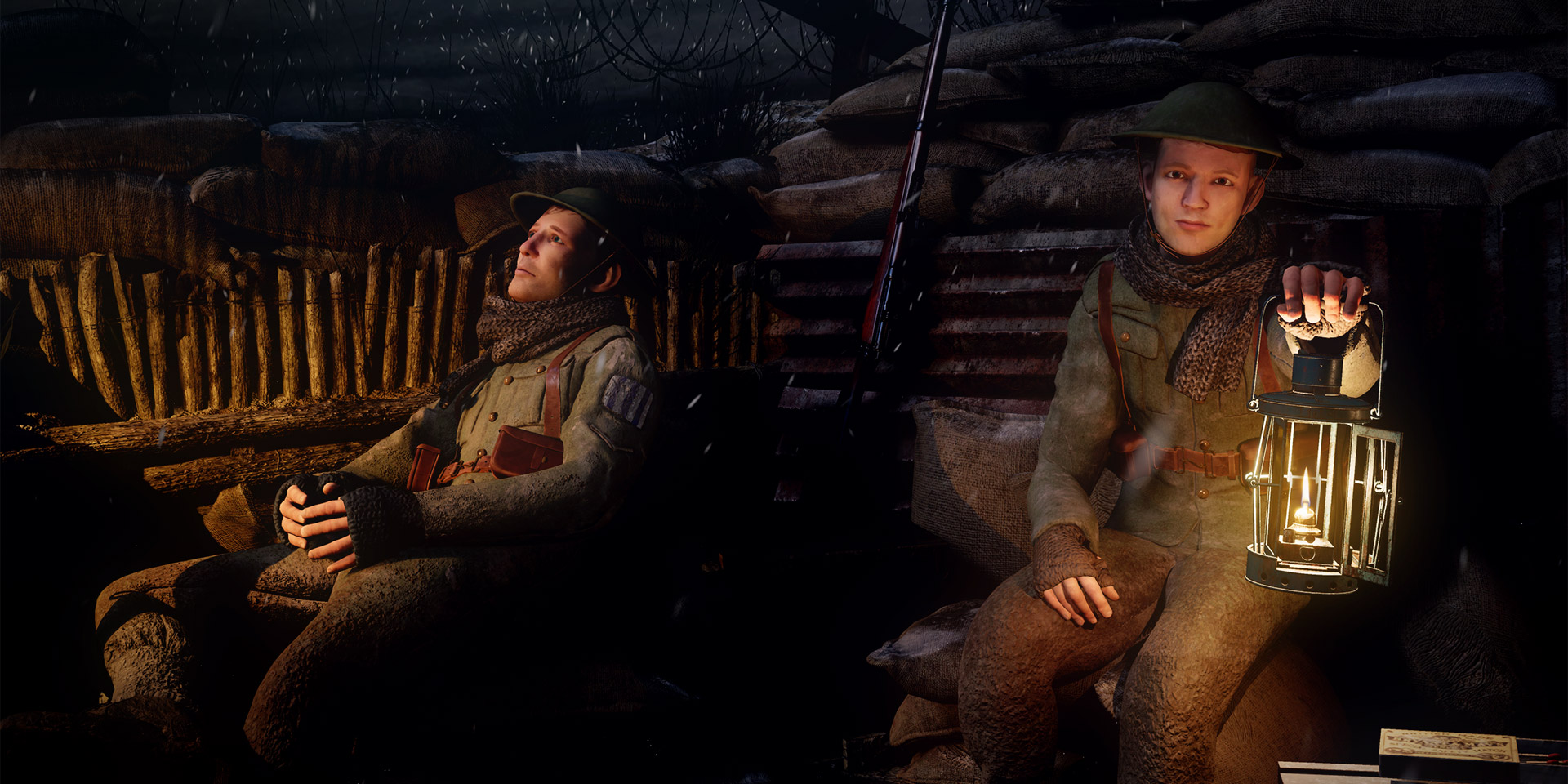 Three Lights: First World War VR experience
