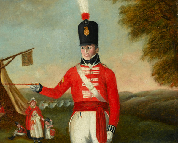 Sergeant of the 2nd (The Queen's Royal) Regiment, c1806