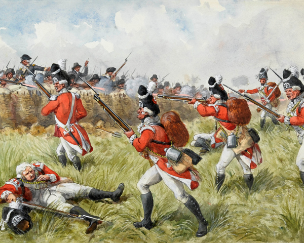 The Battle of Bunker Hill, 1775