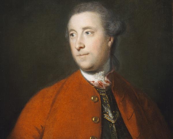 Colonel John Barrington, 64th Regiment, c1758