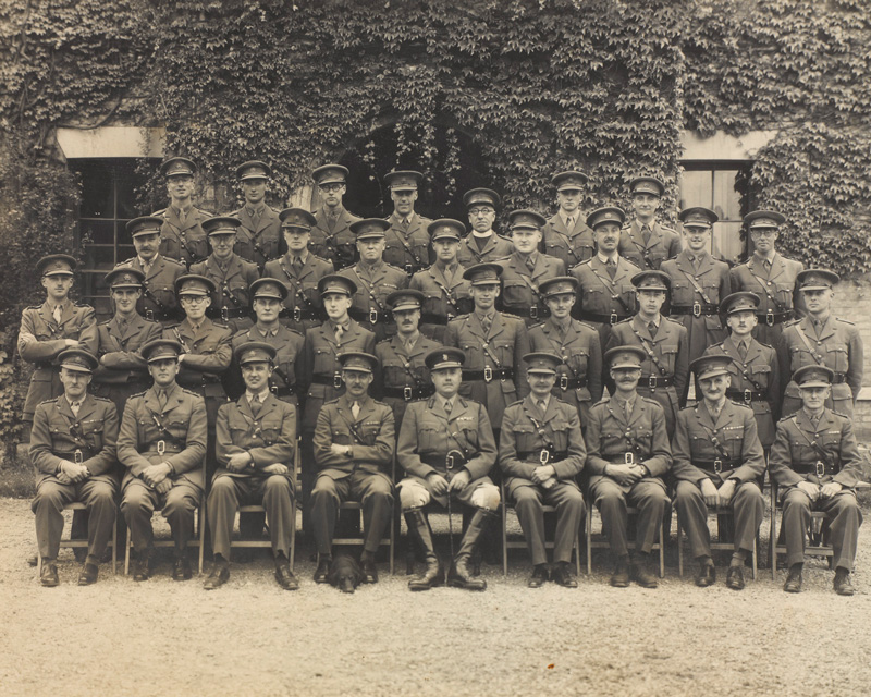 Officers of 10th Battalion The Hampshire Regiment, c1940