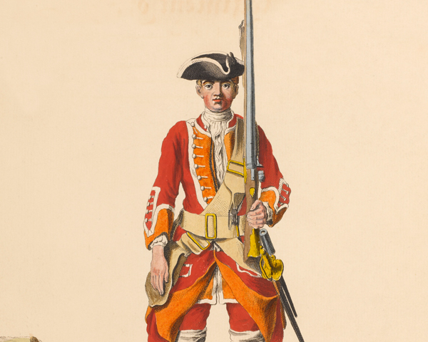 35th Regiment of Foot, c1742