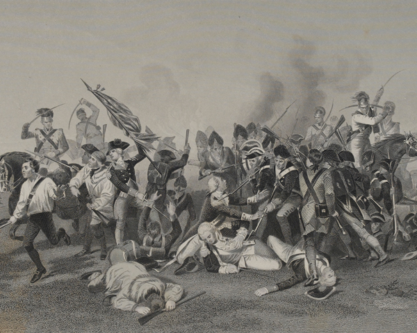 The Battle of Camden, 1780