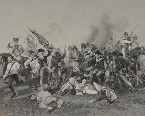 The Battle of Camden, 1780