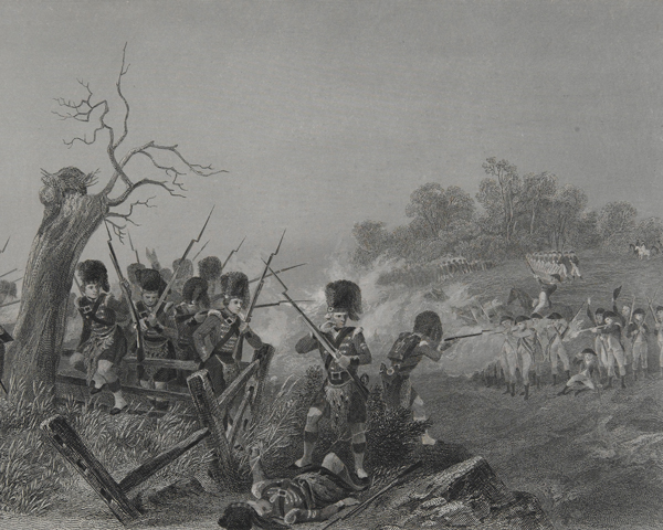 The Battle of Harlem, 1776