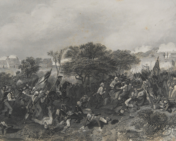 The Battle of Monmouth, 1778