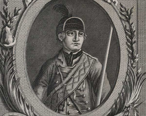 Major Robert Rogers, c1780