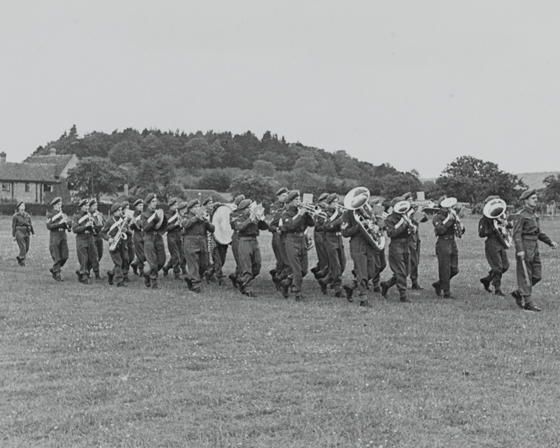A band of The Worcestershire Regiment, c1940