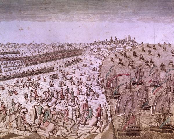 The Battle of Yorktown, 1781
