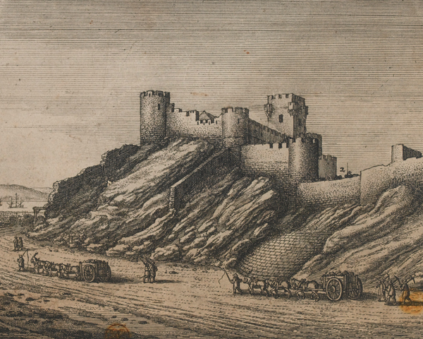 York Castle at Tangier, 1680