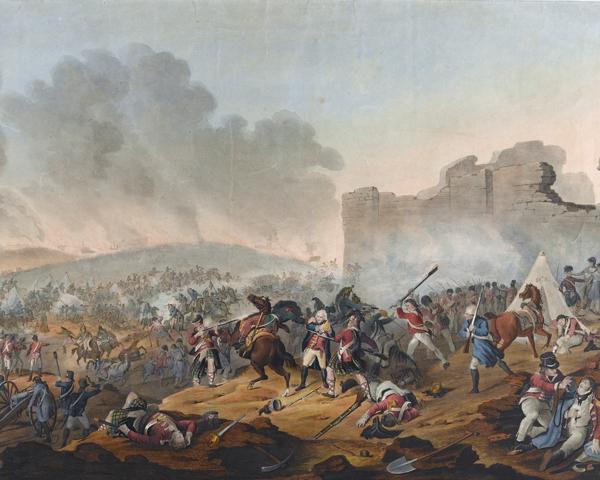 The Battle of Alexandria, 1801