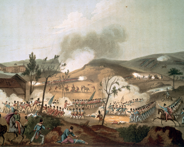 The Battle of Corunna, 1809
