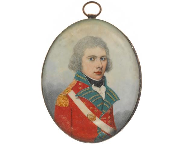 Ensign William Tunstall, 36th Regiment, c1810