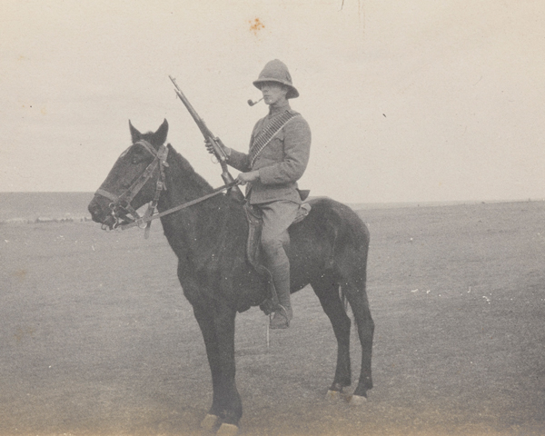Lieutenant Bowcher Clarke, Worcestershire Company, 5th Mounted Infantry, 1901