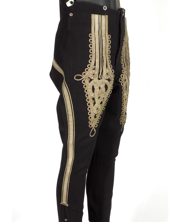 Pantaloons, 3rd Zieten Hussars, worn by The Duke of Connaught, c1900s