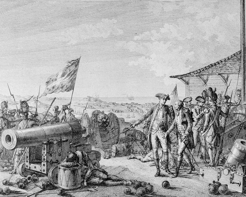 The French capture of Grenada, 1779