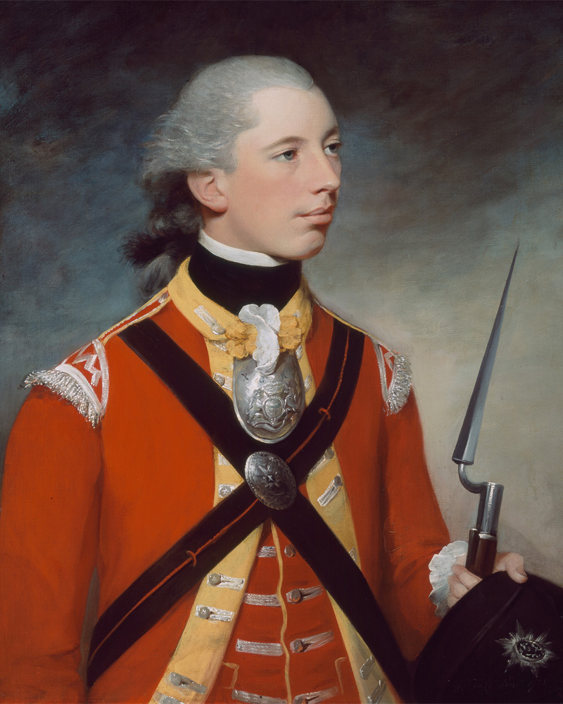 Captain Thomas Hewitt, 10th Regiment of Foot, who commanded a light company at Lexington, 1781