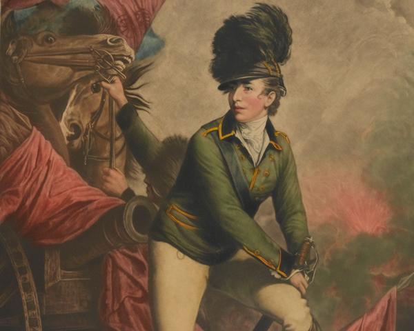 Lieutenant-Colonel Banastre Tarleton, 1782