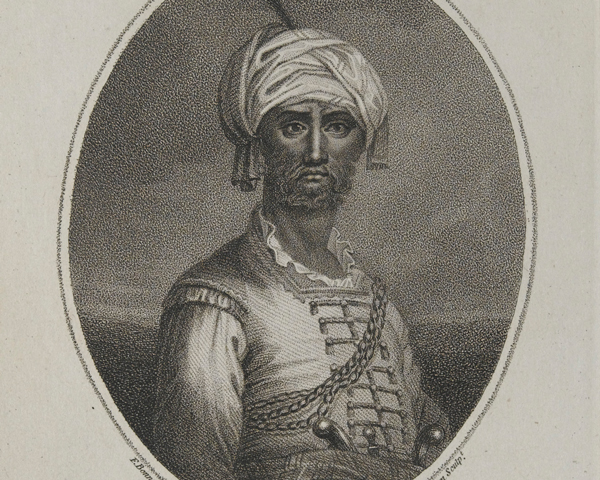 Hyder Ali Khan, ruler of Mysore, c1780