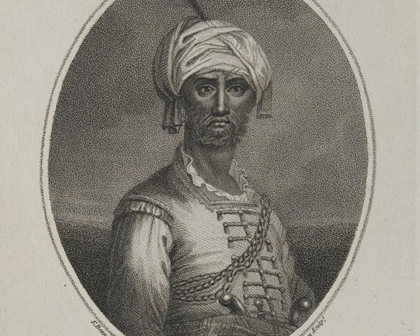Hyder Ali Khan, ruler of Mysore, c1780