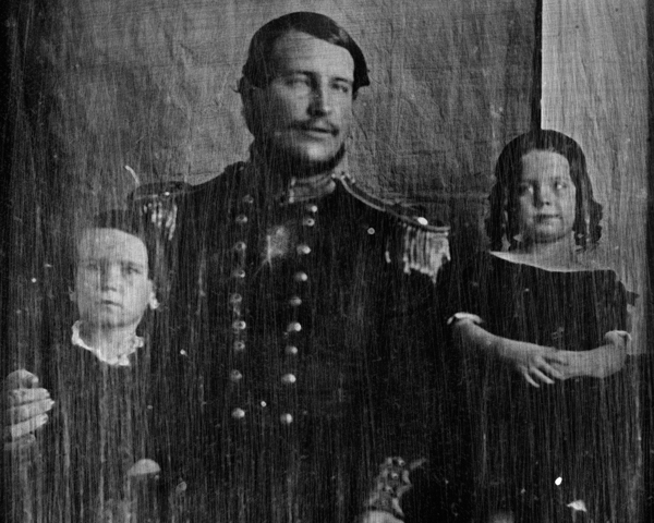 Surgeon Christopher Bassano, 70th Regiment, and family, c1850